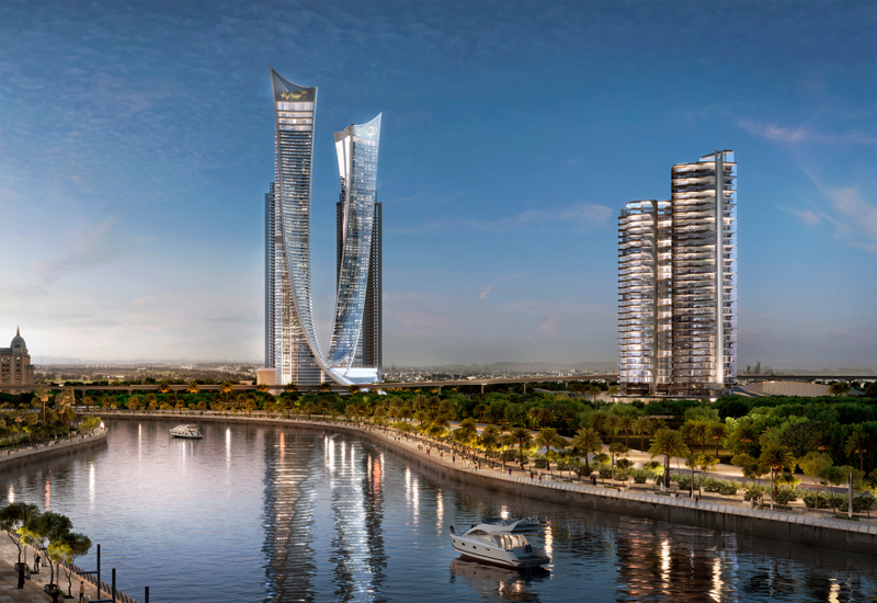 Damac Properties has issued a construction tender for the second of six towers in Aykon City.