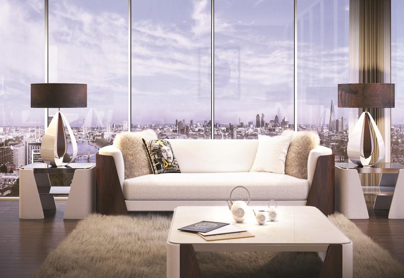 The architect on Aykon London One is Kohn Pedersen Fox Associates.