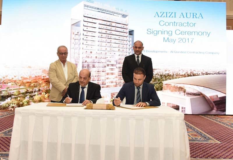 Al Qandeel Contracting Company appointed to build Azizi Aura.