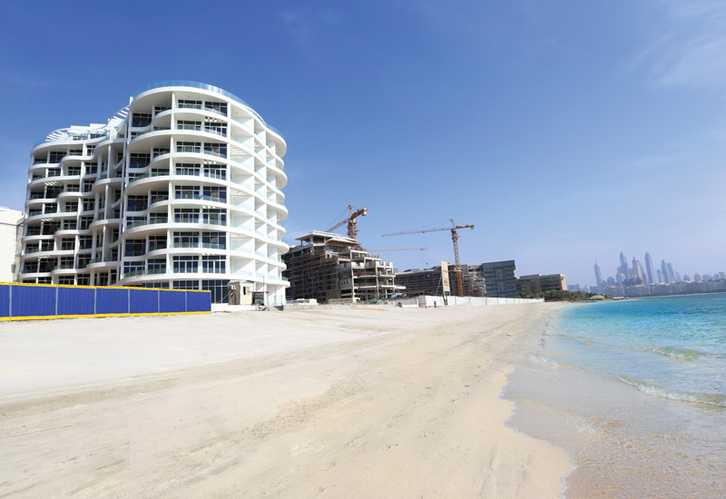 Located on Dubai's Palm Jumeirah, the $95.3m Azizi Royal Bay project was completed in 22 months.