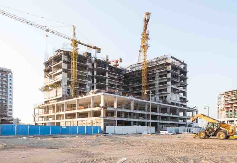 The structure of Dubai's Azizi Shaista is complete.