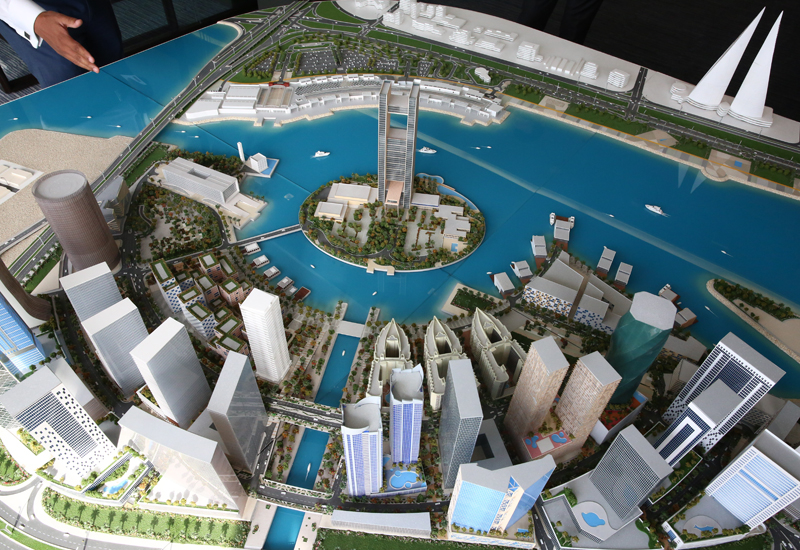 Bin Faqeehs Water Bay is being developed within the kingdoms $2.5bn Bahrain Bay master-planned community.