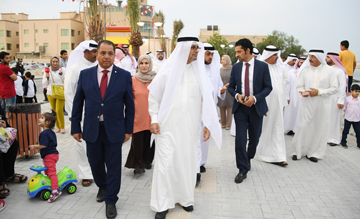 Phase 1 of Bahrain's Tubli Bay Walkway is now open to the public [image: BNA].