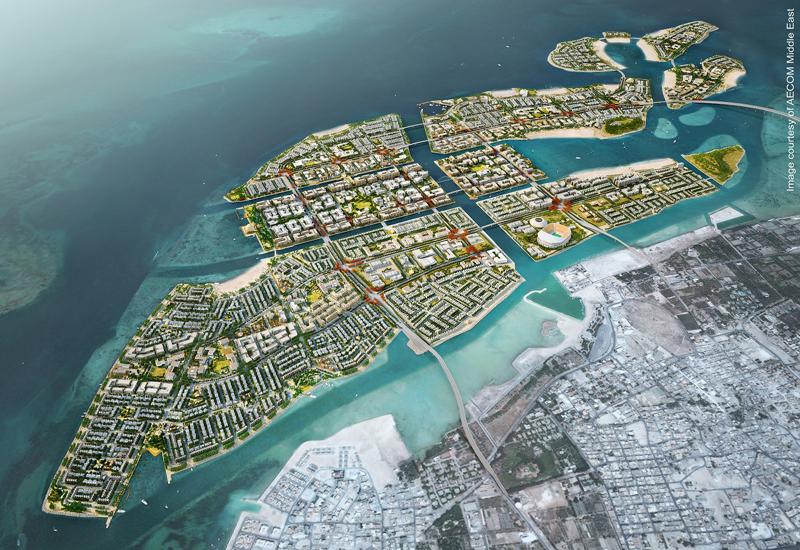 Bahrain infrastructure works scope area.