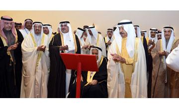 HH Sheikh Salman bin Hamad Al Khalifa Mosque in Bahrain was inaugurated by HRH Prime Minister Prince Khalifa bin Salman Al Khalifa [image: BNA].