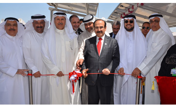 Bahrains Electricity and Water Affairs Ministry has unveiled the country's firstsolar home [image: BNA].
