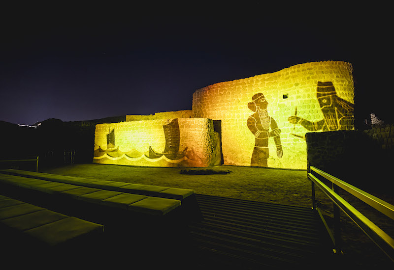 Acciona Producciones y Diseo will work on the AV show at Bahrain Fort.