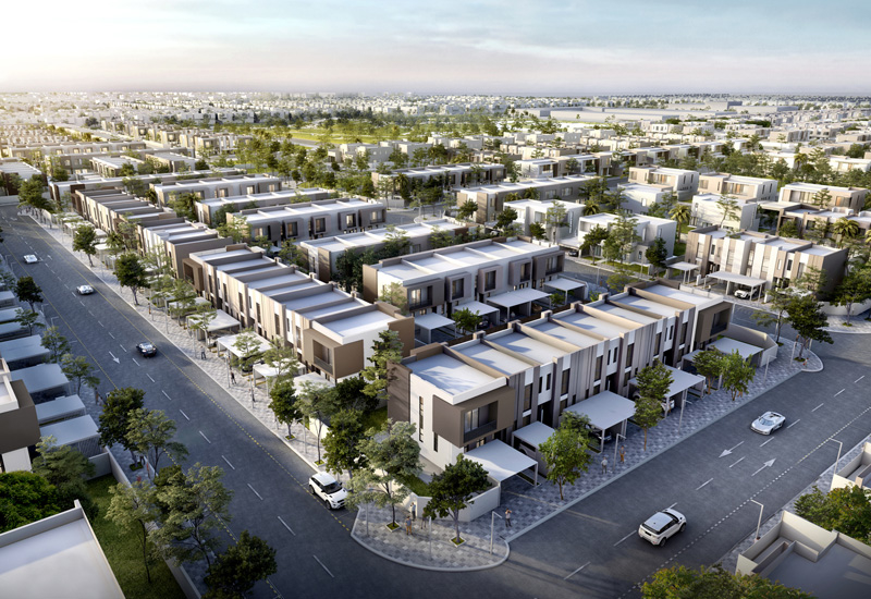 Phase 4 of Arada's Nasma Residences in Sharjah includes the Bareem Townhouses.