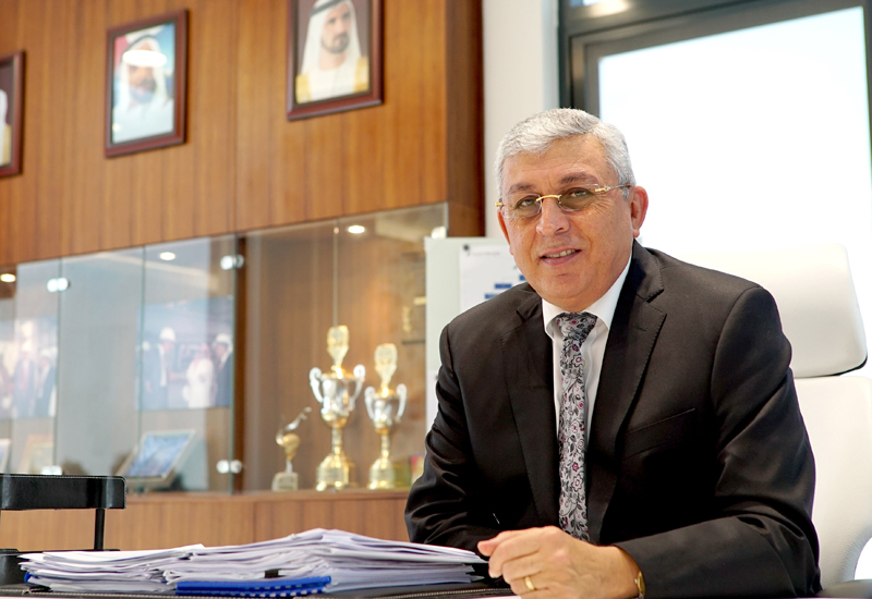 Bashar Abou-Mayaleh (above), MD of CIC, discusses demand for his groups concrete-related products and services in the Middle East.