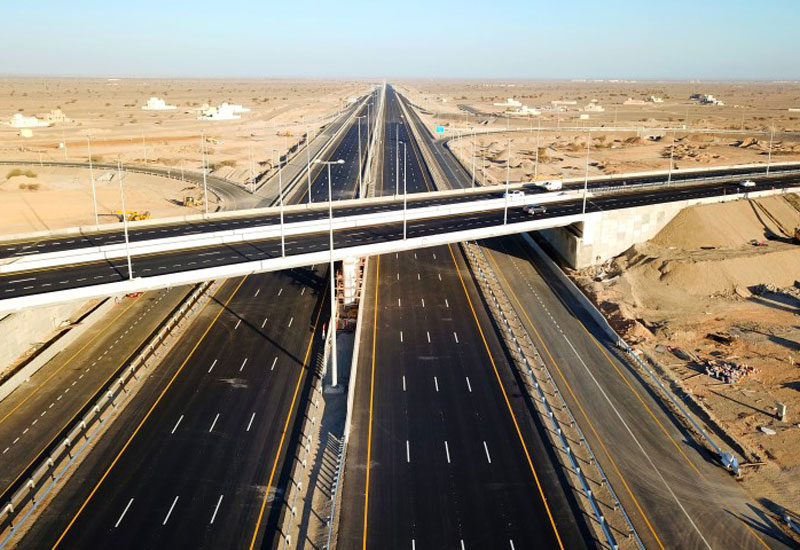 A 17km section of the Al Batinah Expressway project in Oman has been opened [image: ONA].