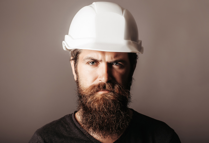 Builders who maintain longer facial hair without Mears Group's consent could face disciplinary action.