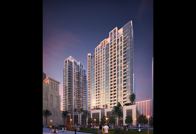 Bellevue Towers 2 is scheduled for completion in 2019.