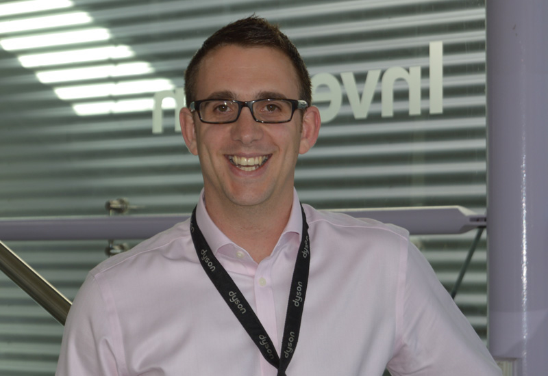 Ben Gray, commercial regional manager for MEA, Dyson.