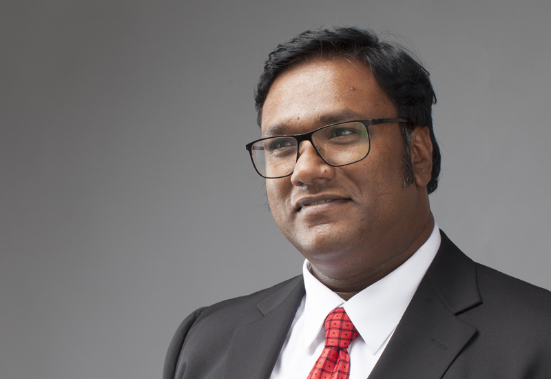 Benoy Kurien (above) says that AHG is planning its first project outside of Ras Al Khaimah.