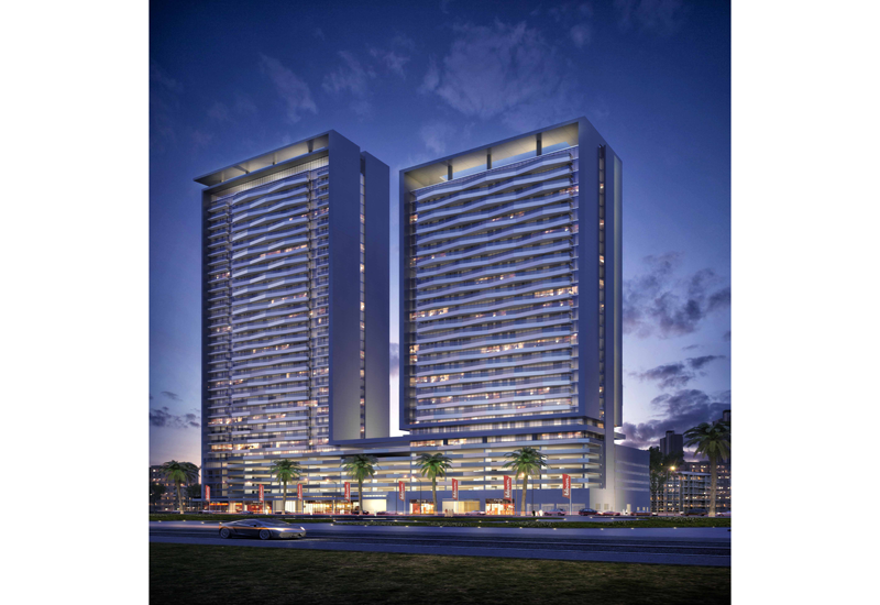 Bloom Heights mixed-use development in Dubai's JVC.