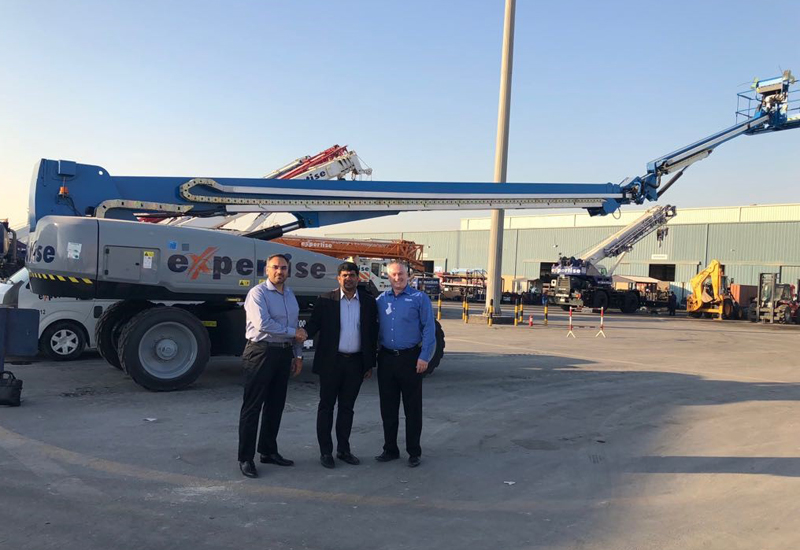 Expertise Contracting Co has debuted the Genie SX-135 XC in Saudi Arabia.