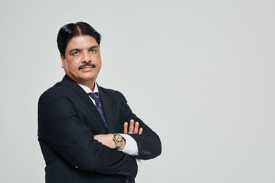 Praveen Sarapure, group director and CEO of Brayan Group.