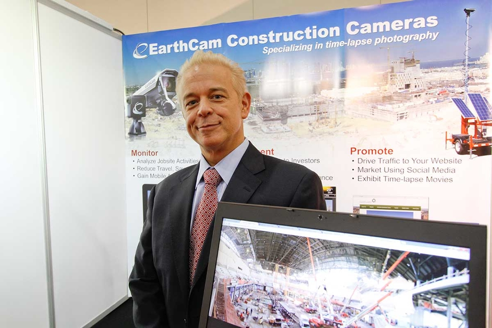 Brian Cury, chief executive officer, EarthCam.