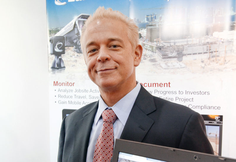 INTERVIEWS, Projects, Brian Cury, Construction cameras, Construction Week, EarthCam, Interview, Middle East construction industry, Technology in construction, Webcam technology