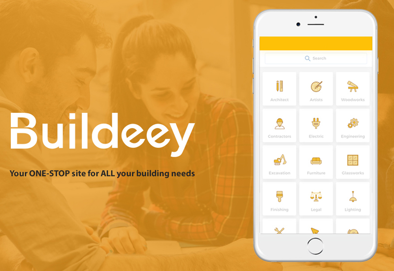 "Buildeey said the app ""guarantees [...] a steady stream of projects""."