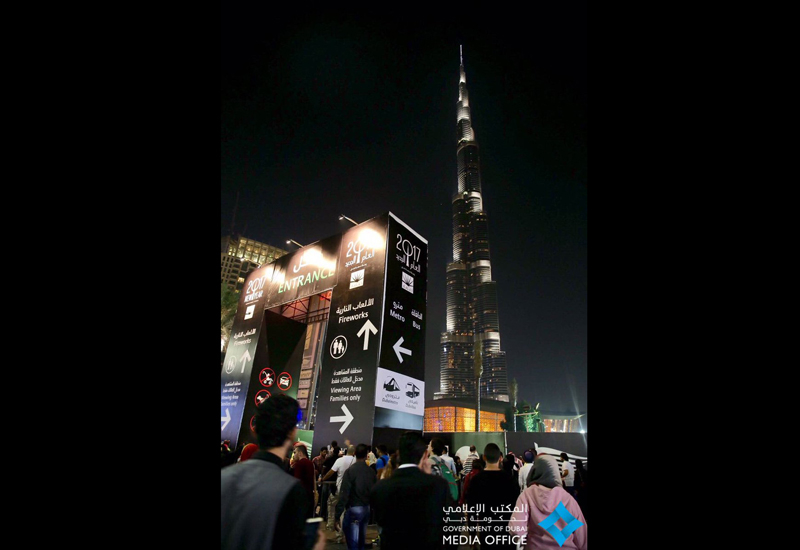 Bee'ah organised a clean-up of the Downtown area, home to Burj Khalifa, following New Year's Eve celebrations for the third consecutive year. [Representational image: Twitter / Dubai Media Office]