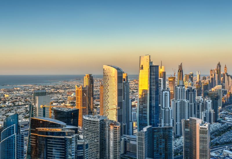 Dubai is the 'bright spot' of the Middle East's construction sector.