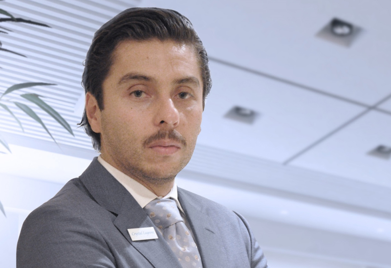 Carlos Salas (above) says that many of Crystal Lagoons' patented technologies are ideally suited to developments within Qatar's tourism sector.