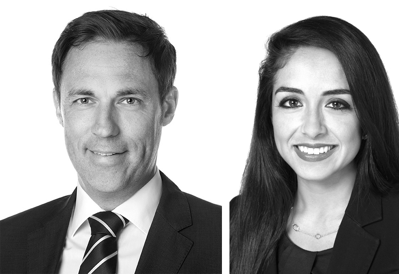 Michael Heitmann and Gabriella De La Torre were two of the four CBRE appointments.