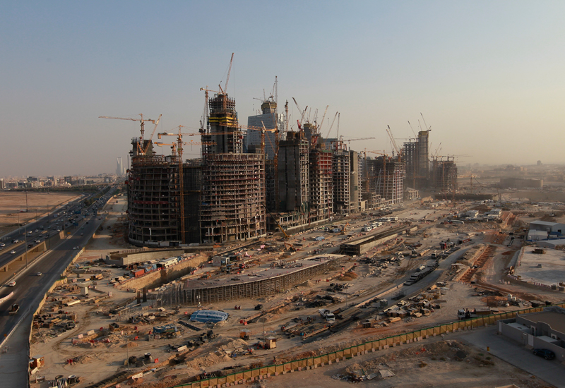 King Abdullah Financial District: Development of Saudi Arabia's KAFD began in 2006, but the project has been plagued by delays.