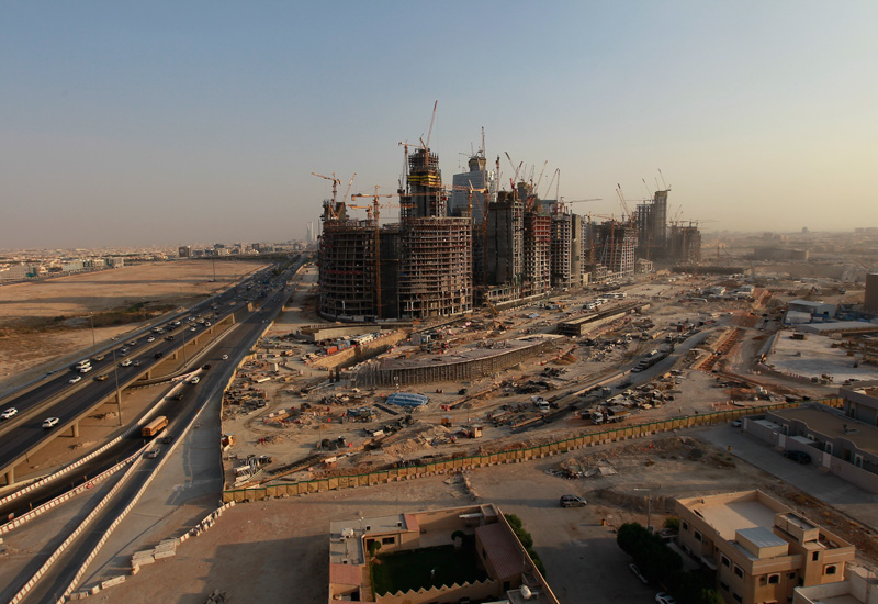 Troubled times: SBG's enviable project portfolio includes Saudi's 160ha King Abdullah Financial District.