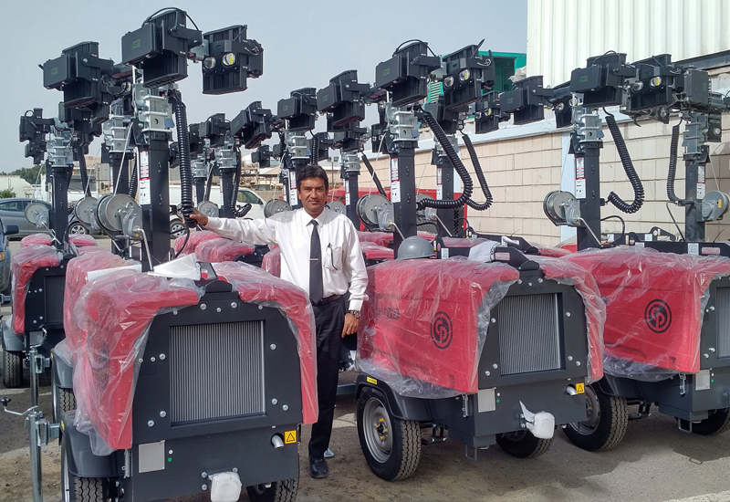 GTE will supply 25 Chicago Pneumatic LED light towers to Al-Yousifi for use on an oilfield project.