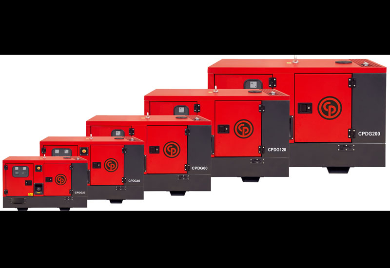 Chicago Pneumatic's CPDG diesel generator line-up now includes models ranging from 9kVA to 200kVA.