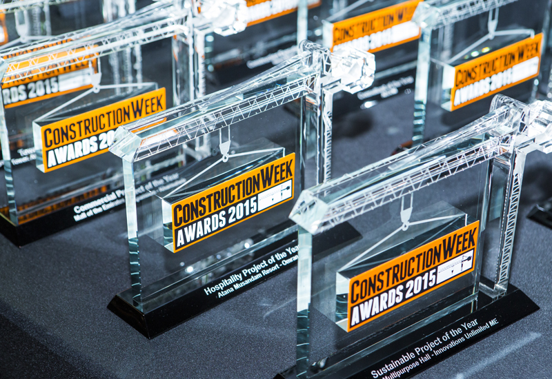 Nominations are now open for the Construction Week Awards 2016.