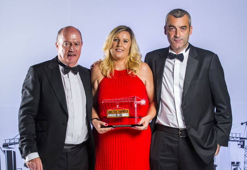 BAM Internationals Worker Wellness Programme was named Health and Safety Initiative of the Year at the <i>Construction Week</i> Awards 2017.