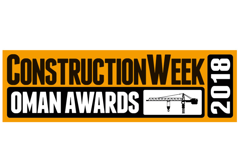 The Construction Week Oman Awards 2018 will be held in Muscat on 12 March.