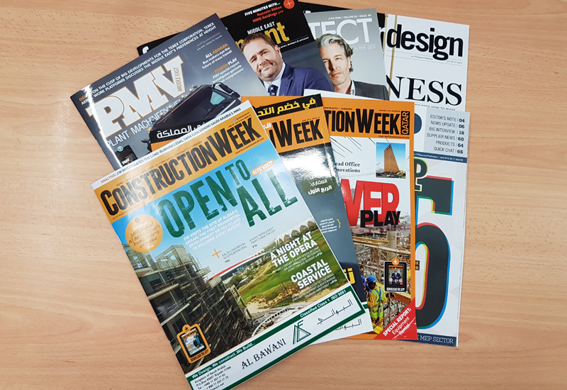 Don't miss out on this summer's two-for-one offer on digital subscriptions to <i>Construction Week</i> titles.