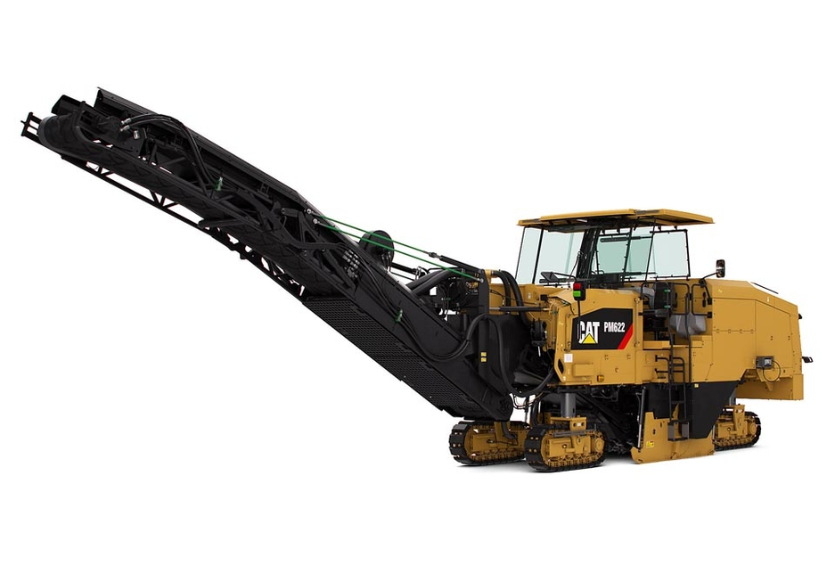 The Cat PM622 weighs 34t and deploys a 2235mm-wide high-production rotor at  a depth of up to 330mm.