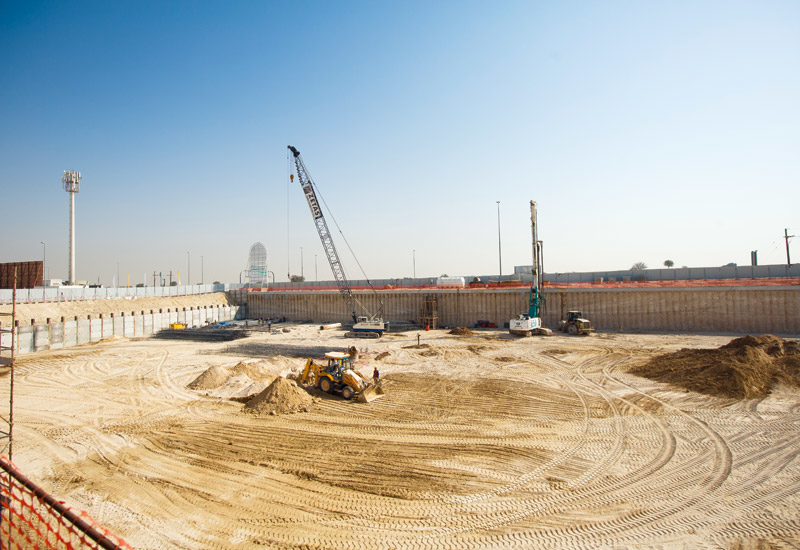 Excavation works for Cayan Cantara in Dubai have been completed.