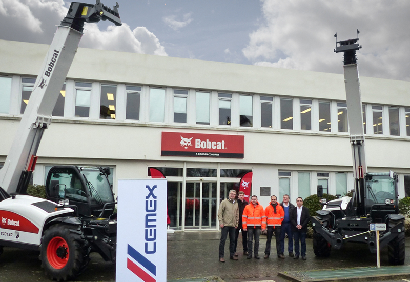 Cemex has placed an order for eight Bobcat telehandlers, taking its total 2016 acquisition to 16 units.