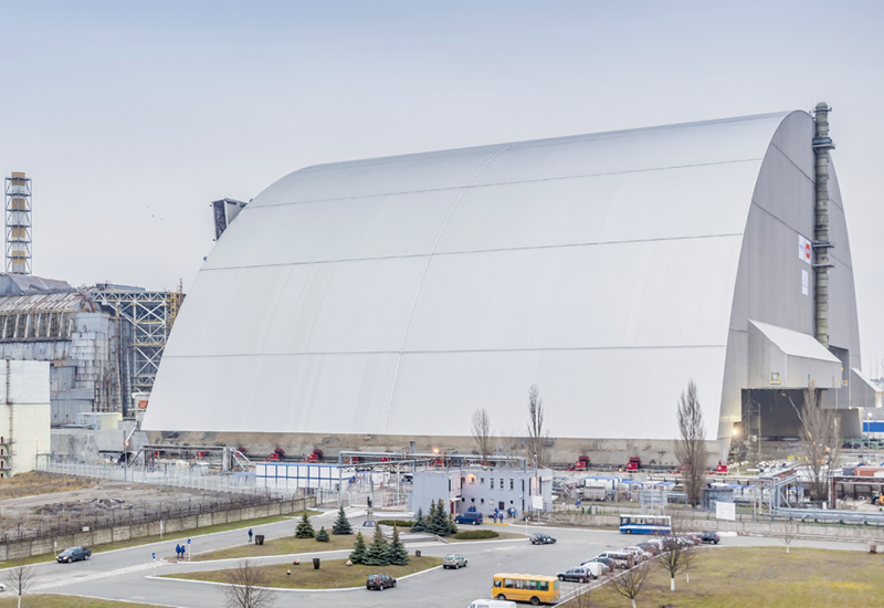 With an approximate weight of 33,000 tonnes, Chernobyl's New Safe Confinement is the largest land-based moveable structure in the world.