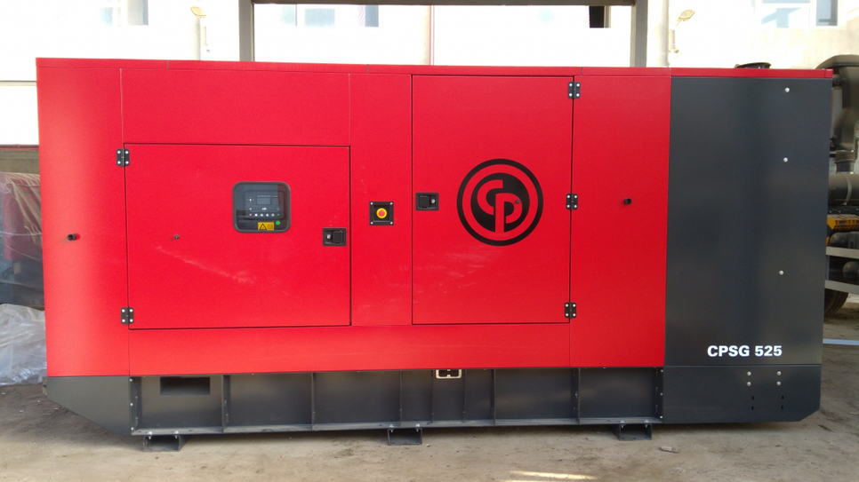 Chicago Pneumatic has made itsfirst sale of theCPSG range of generators in Egypt.