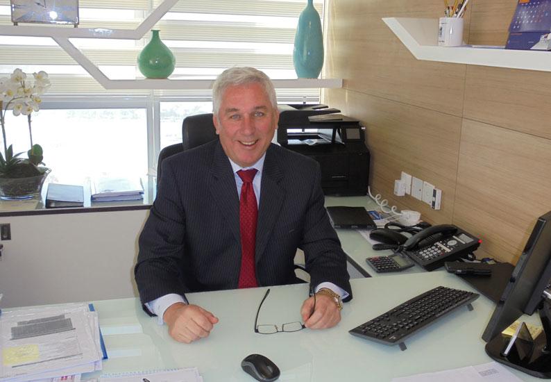 Christer Eriksson, CEO, JK Cement Fujairah.