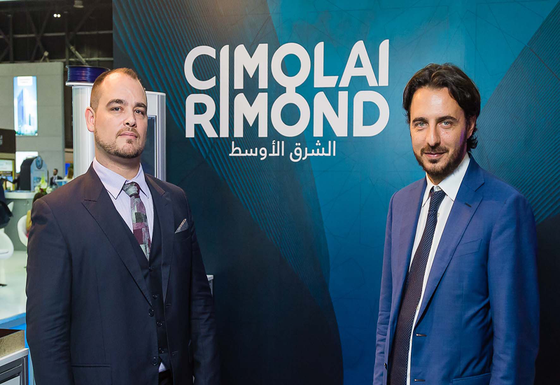 Cimolai Rimond Middle East will operate from its regional base in Abu Dhabi's Masdar City.