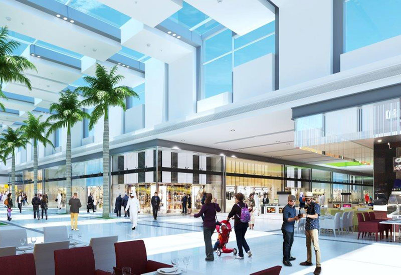 A $163.3m expansion programme is underway at City Centre Ajman.