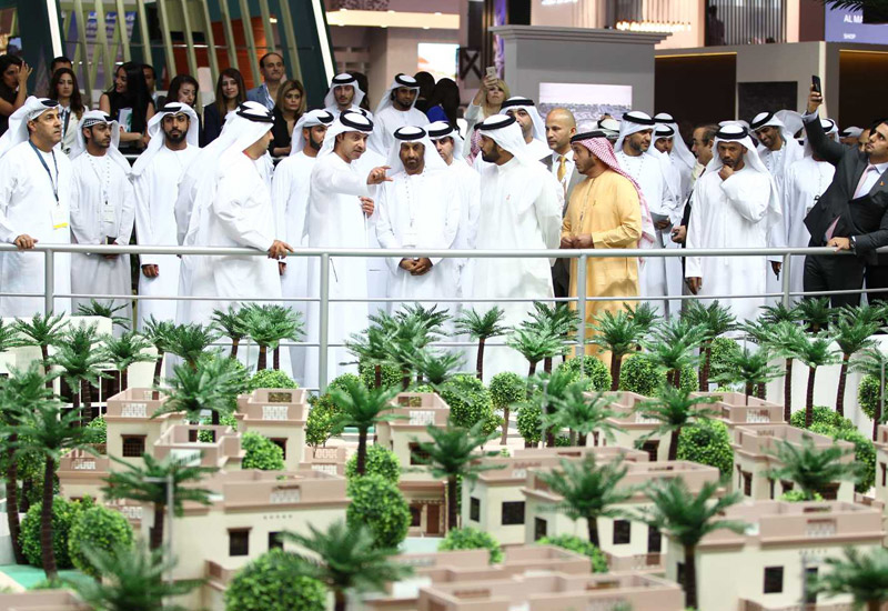 HH Sheikh Hazza bin Zayed Al Nahyan, vice chairman of the executive council of Abu Dhabi, opened Cityscape Abu Dhabi 2016.