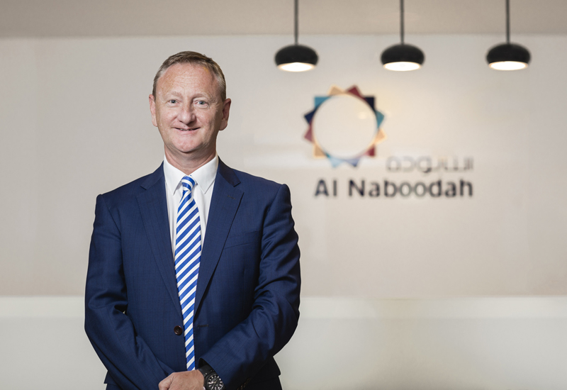 Current COO Colin Timmons (above) will take over from Steve Lever as CEO of Al Naboodah Construction Group (ANCG) as of 1 July, 2016.