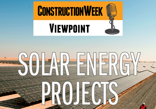 Regional powers Saudi and UAE are leading solar energy investment.