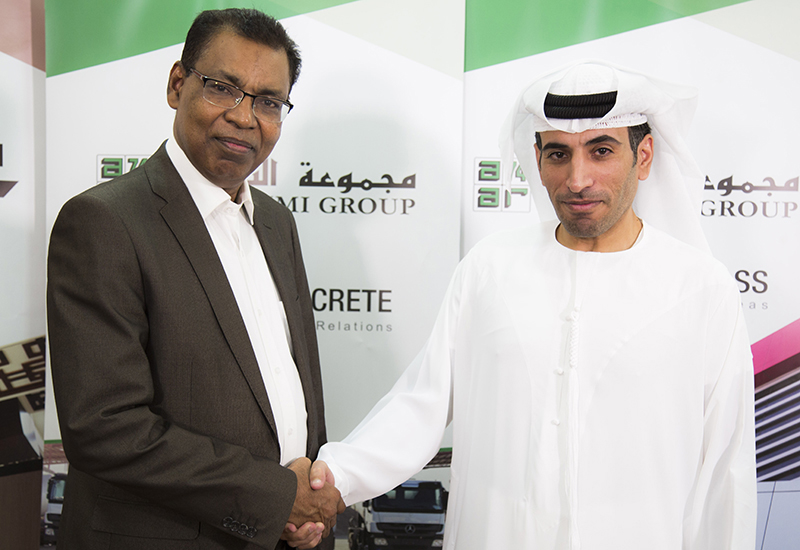 Al Nuaimi Group LLCs CEO, Dr Rashed Al Nuaimi, signed the software agreement.