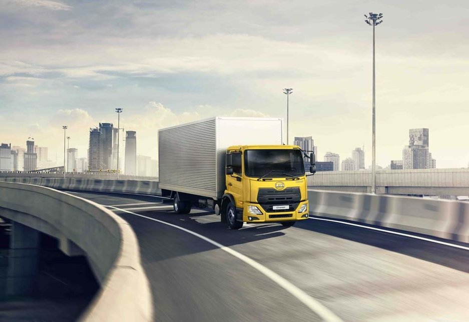 The UD medium-duty Croner has had one million kilometres of testing on roads in countries including the UAE.