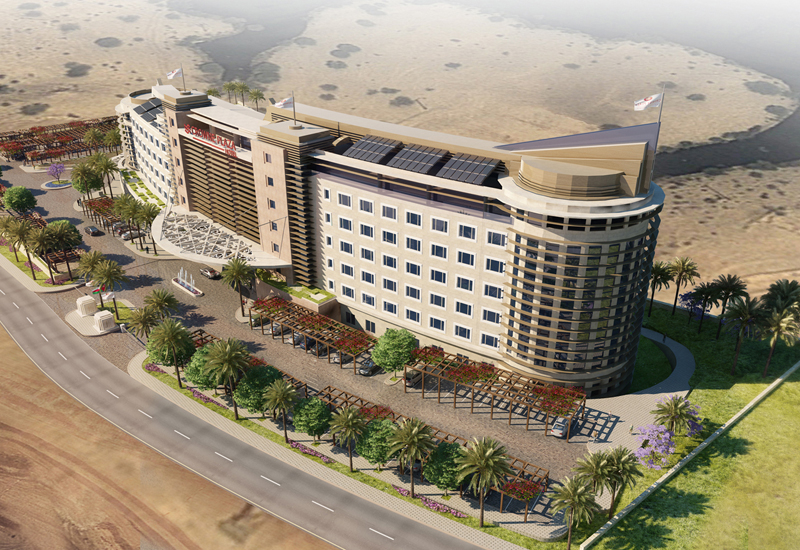 Crowne Plaza Muscat OCEC is the first of three planned hotels within the Madinat Al Irfan district.